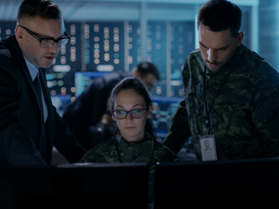 Cyber-force training and development