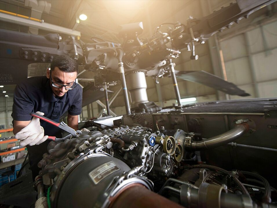 Advanced rotary-wing maintenance