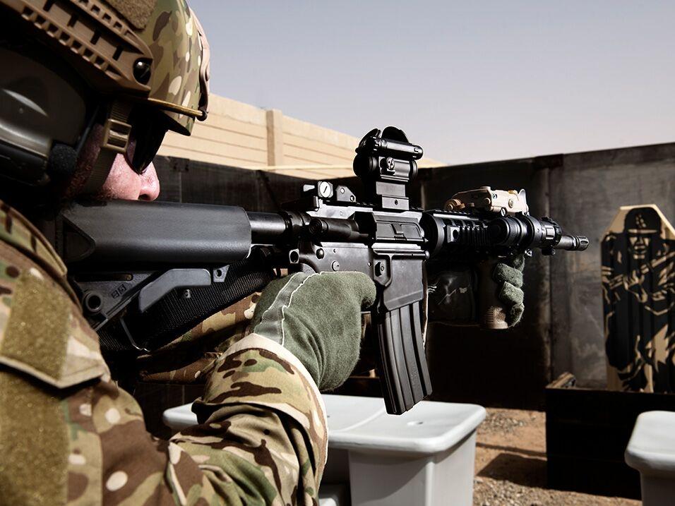 Comprehensive shooting-range solutions